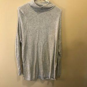 Turtleneck Tunic Length Sweater